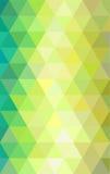 Fondo geométrico de los triángulos coloridos abstractos Ilustración del vector Imagen de archivo