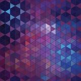 Fondo geométrico del extracto del hexágono Imágenes de archivo libres de regalías