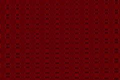 fondo geométrico del modelo del extracto del color rojo, gráfico abstracto colorido de los cuadrados de rejillas con las líneas Fotografía de archivo
