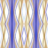 Fondo geométrico del ornamento abstracto inconsútil del modelo Imagenes de archivo
