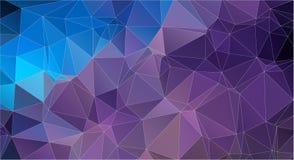 Fondo geométrico del triángulo del color plano Imagen de archivo