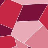 Fondo geométrico en rosa Foto de archivo libre de regalías