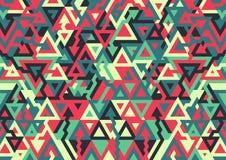 Fondo geométrico horizontal de moda stock de ilustración