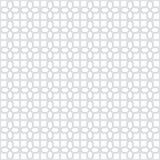 Fondo geométrico inconsútil decorativo del modelo del vector Imagen de archivo libre de regalías