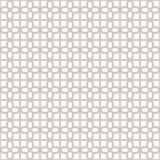 Fondo geométrico inconsútil decorativo del modelo del vector Imágenes de archivo libres de regalías