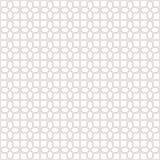 Fondo geométrico inconsútil decorativo del modelo del vector Fotos de archivo