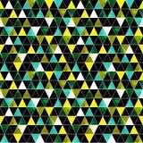 Fondo geométrico inconsútil del modelo de zigzag del galón Imagen de archivo libre de regalías
