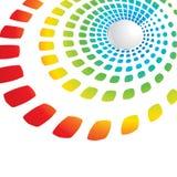Fondo geométrico iridiscente Imagenes de archivo