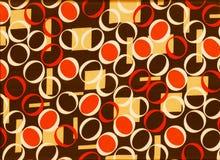 Fondo geométrico retro Foto de archivo libre de regalías