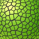 Fondo geométrico verde abstracto Ilustración del Vector