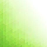 Fondo geométrico verde abstracto de la tecnología Fotos de archivo libres de regalías