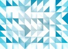 Fondo geom?trico azul con efecto del mosaico ilustración del vector