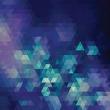 Fondo geometrico Fotografia Stock