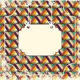 Fondo geometrico Fotografia Stock Libera da Diritti