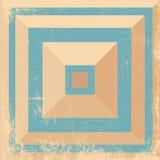 Fondo geometrico Immagini Stock