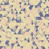 Fondo geometrico astratto Immagine Stock