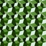 Fondo geometrico astratto con i cubi isometrici Immagine Stock