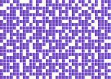Fondo geometrico astratto con i quadrati porpora Vettore illustrazione vettoriale