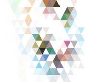 Fondo geometrico astratto con il posto per il vostro testo illustrazione di stock
