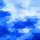 Fondo geometrico astratto con le forme casuali Fotografia Stock