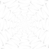 Fondo geometrico astratto delle linee Effetto a spirale Immagine Stock Libera da Diritti