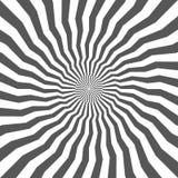 Fondo geometrico astratto delle linee Effetto a spirale St moderna Fotografia Stock Libera da Diritti