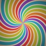 Fondo geometrico astratto di Candy con lo smazzamento Immagini Stock