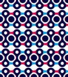 Fondo geometrico astratto, modello senza cuciture, backgrou di vettore Fotografia Stock