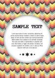 Fondo geometrico astratto per il vostro testo Fotografia Stock