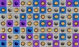 Fondo geometrico astratto, rappresentazione 3D royalty illustrazione gratis