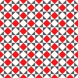 Fondo geometrico astratto senza cuciture di struttura del modello della tessera Immagini Stock Libere da Diritti