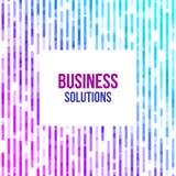 Fondo geometrico astratto variopinto di affari Mosaico casuale della viola, di forme geometriche rosa e blu illustrazione vettoriale
