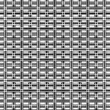 Fondo geometrico in bianco e nero astratto del modello di arte op illustrazione vettoriale