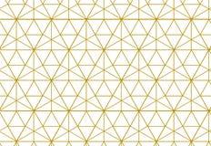 Fondo geometrico con il rombo ed i nodi Geometrico astratto Fotografia Stock