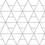 Fondo geometrico con il rombo Reticolo geometrico astratto Struttura dorata Reticolo geometrico senza giunte di vettore illustrazione vettoriale