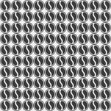 Fondo geometrico dei cerchi Reticolo senza giunte Immagine Stock Libera da Diritti