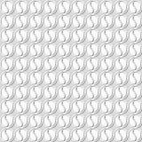 Fondo geometrico dei cerchi Reticolo senza giunte Fotografia Stock