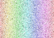 Fondo geometrico dei triangoli dell'arcobaleno Fotografia Stock