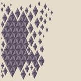 Fondo geometrico del poligono del triangolo astratto Fotografia Stock Libera da Diritti