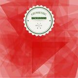Fondo geometrico del triangolo astratto, illustrazione EPS10 di vettore Immagini Stock Libere da Diritti