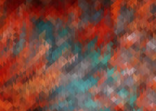 Fondo geometrico del triangolo 2D Immagini Stock