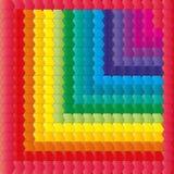 Fondo geometrico dell'arcobaleno Fotografia Stock Libera da Diritti