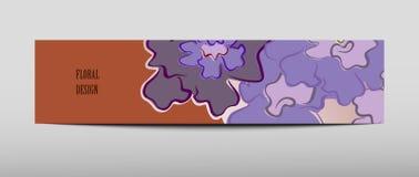 Fondo geometrico dell'estratto di presentazione della copertura dell'opuscolo, disposizione in modello stabilito di progettazione Illustrazione di Stock