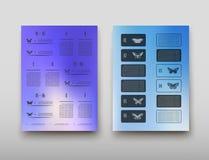 Fondo geometrico dell'estratto di presentazione di infographics della copertura dell'opuscolo, disposizione nella progettazione s Royalty Illustrazione gratis