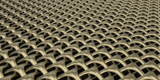 fondo geometrico della carta da parati dell'estratto del tessuto 3D Immagini Stock
