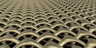 fondo geometrico della carta da parati dell'estratto del tessuto 3D Fotografie Stock Libere da Diritti