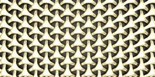 fondo geometrico della carta da parati dell'estratto del tessuto 3D Immagini Stock Libere da Diritti