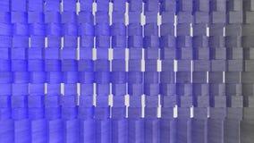 fondo geometrico della carta da parati dell'estratto del tessuto 3D royalty illustrazione gratis