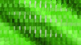 fondo geometrico della carta da parati dell'estratto del tessuto 3D illustrazione di stock