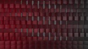 fondo geometrico della carta da parati dell'estratto del tessuto 3D archivi video